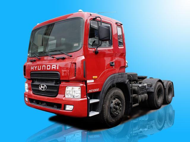 Xe đầu kéo Hyundai HD1000 máy 410PS 2 cầu