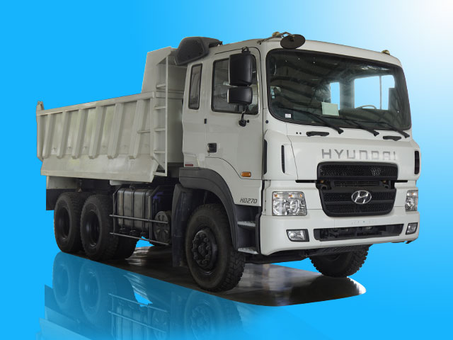 Xe ben Hyundai 15 tấn 10 khối - HD270