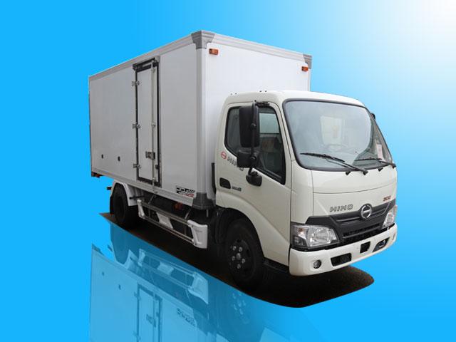 Xe tải Hino 1.9 tấn thùng bảo ôn - XZU650L